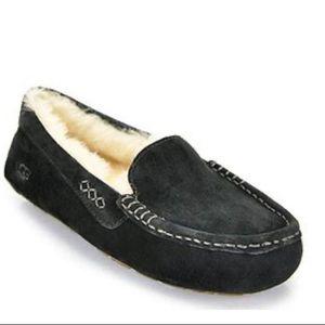 Ugg Ansely Black Slipper size 11 Preloved